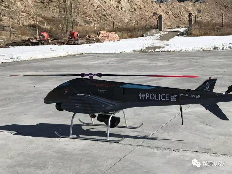 警用装备无人机技术